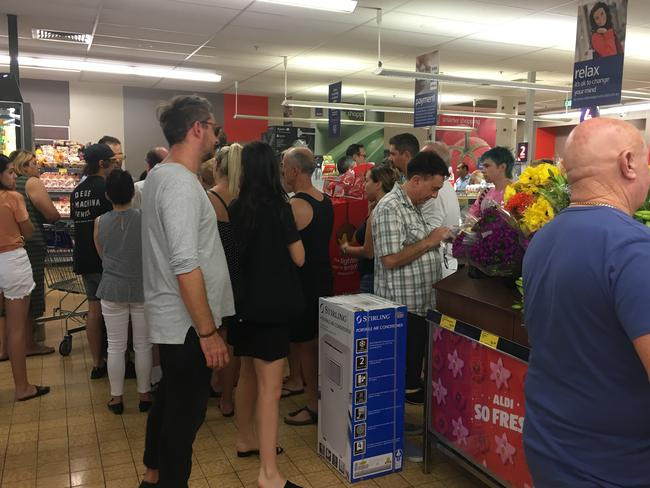 Some shoppers claim desperate customers grab several items from the Special Buys range, leaving others empty-handed.