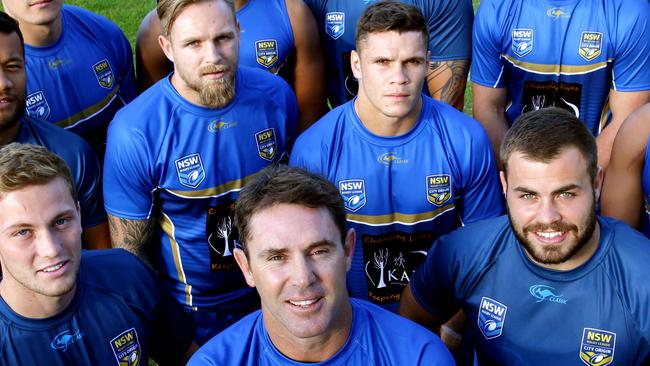 Brad Fittler had James Roberts in his City Origin team in 2015. Photo: Gregg Porteous