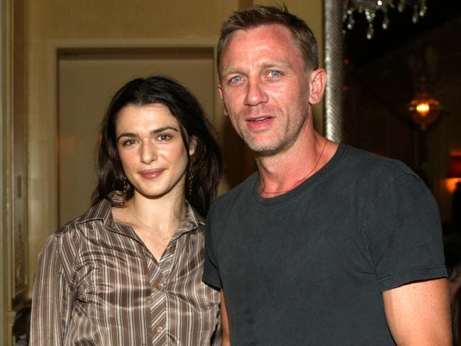 Rachel Weisz and Daniel Craig, pictured here in 2004, have welcomed a baby girl. Picture: Bowers/Getty Images