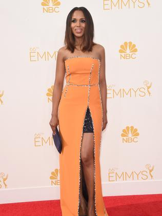 Kerry Washington attends the 66th Annual Primetime Emmy Awards.