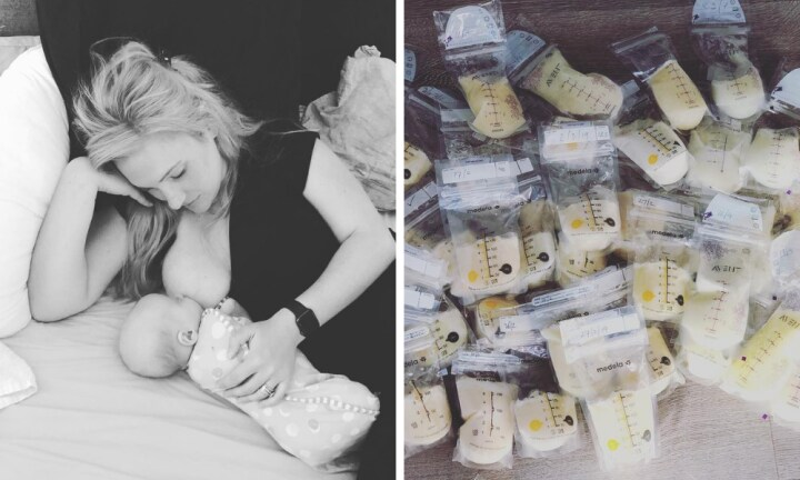 Jimmy Giggle's wife is donating her incredible 'stash' of breastmilk