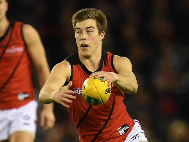 Zach Merrett of the Bombers won All-Australian honours.