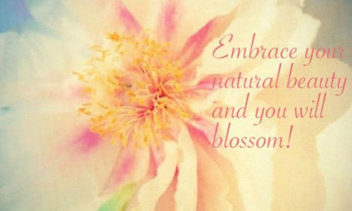 How to embrace your natural beauty