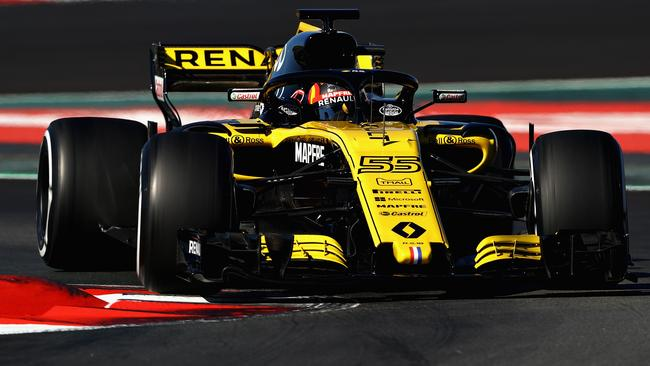 The new Renault has been highly impressive in pre-season testing.