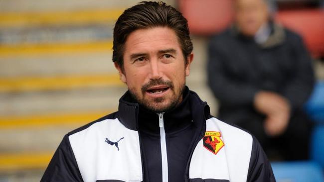 Harry Kewell is learning his trade at Watford.