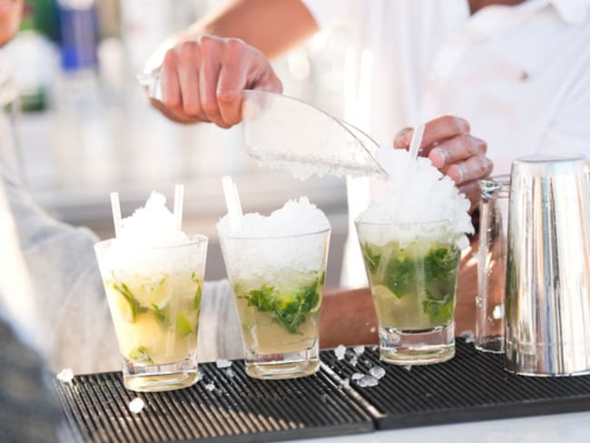 Mojitos are a sticky pain-in-the-backside for bartenders.