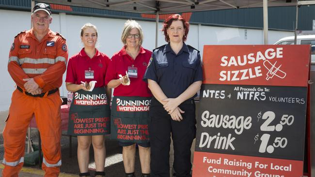 Bunnings barbecues are held at outlets across the country every weekend to raise funds for community and charity groups.