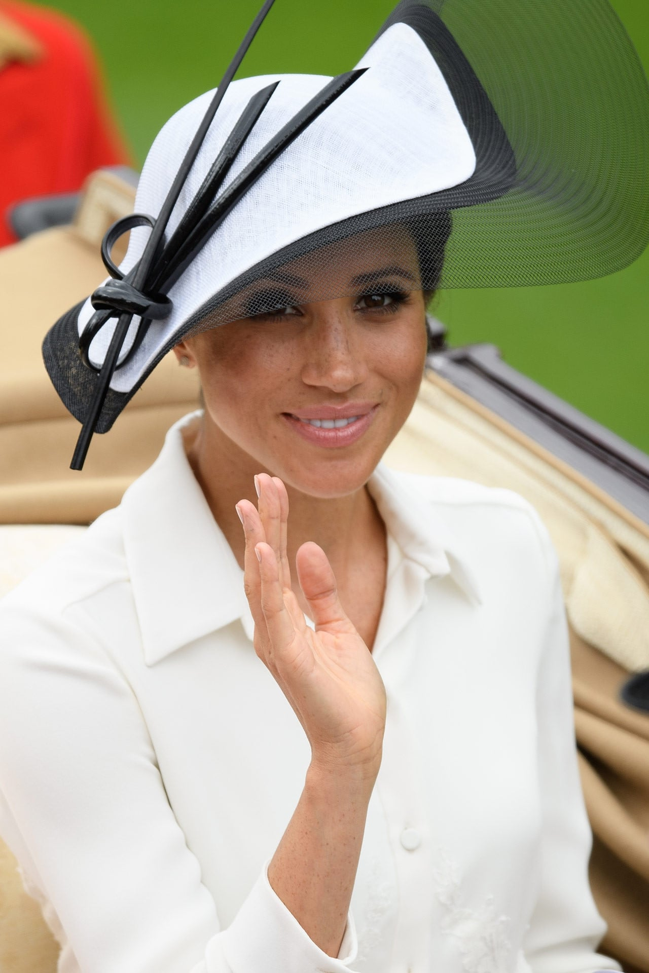 Meghan Markle wears Givenchy for her first Royal Ascot outing