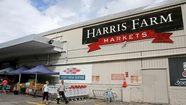 Sydney greengrocer Harris Farm Markets has wanted to move into the space by Woolies went to court to keep them out. Picture: Troy Snook