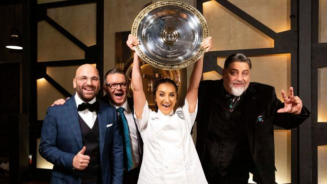 MasterChef Australia's finale this week was the lowest rating in the show's history.