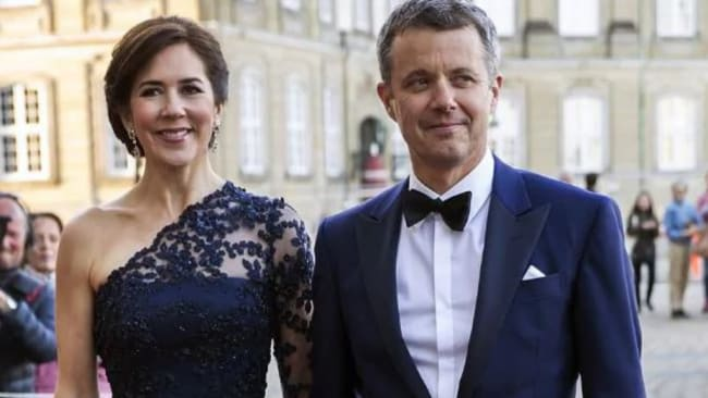 Princess Mary and husband Prince Frederik in April. Picture: Ole Jensen/Getty Images