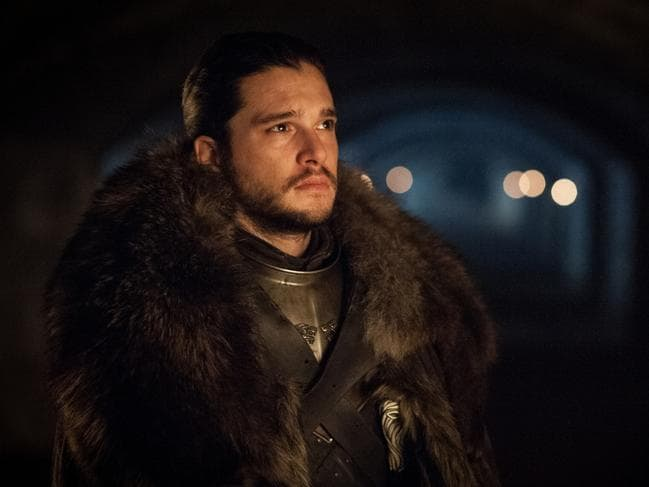 Stark reality ... Jon Snow struggles to belong in the House of Stark. Picture: Supplied/HBO