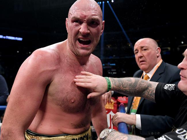 Tyson Fury has become heavyweight boxing's biggest drawcard.