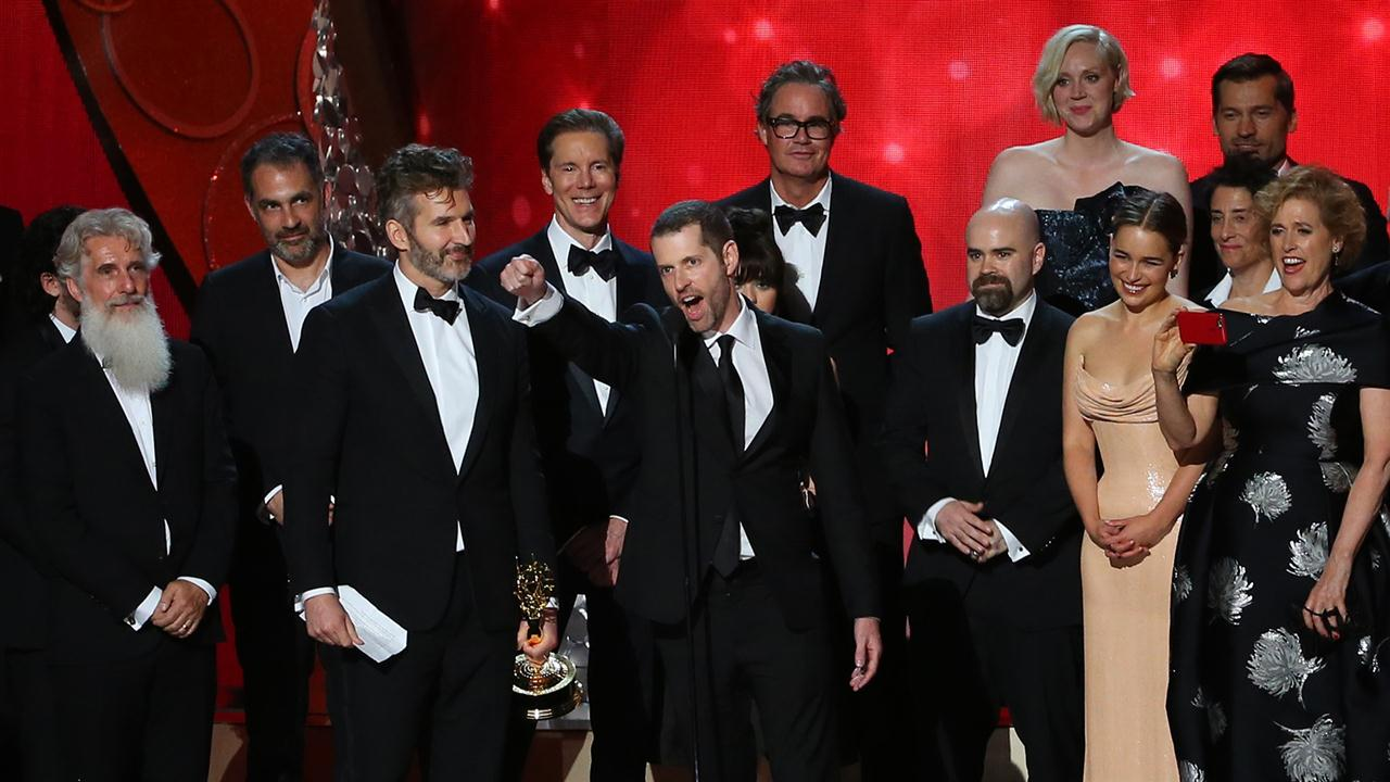 """Game of Thrones"", ""Veep"" Take Emmys' Top Awards"