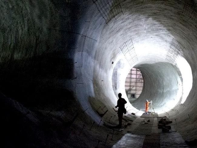 The incredible new London train project has uncovered secrets. Picture: Crossrail