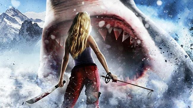 The poster for Avalanche Sharks. Now all we need is a tag line.