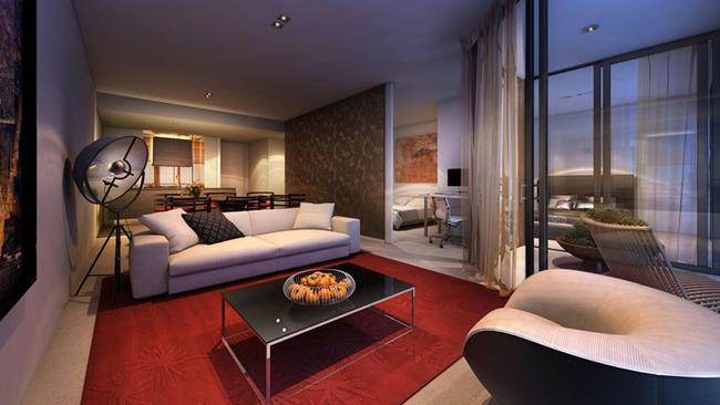 Prices for off-the-plan two-bedroom apartments in Parramatta's V by Crown Group start at $850,000.