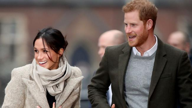 The couple sensationally quit their roles last week. Picture: Chris Jackson/Getty Images