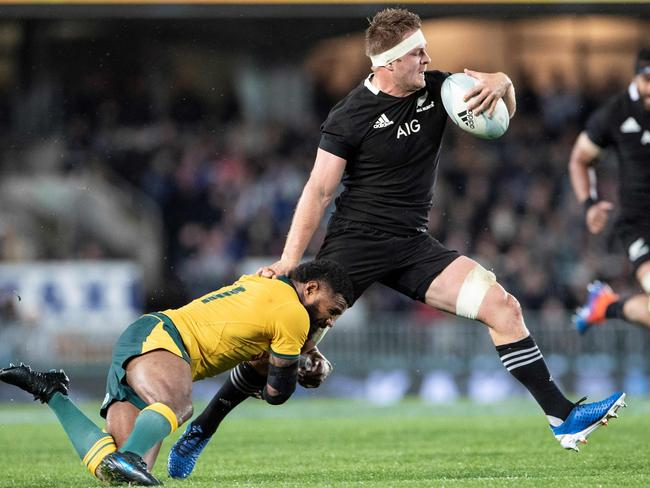 Sam Cane is just one of the All Blacks' open side flankers.
