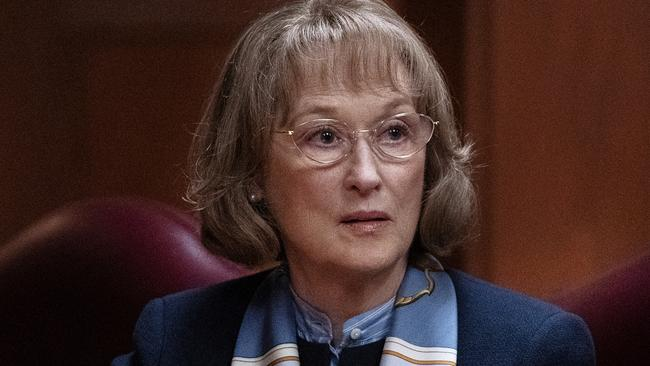 Meryl Streep in a scene from the final episode. Picture: Supplied
