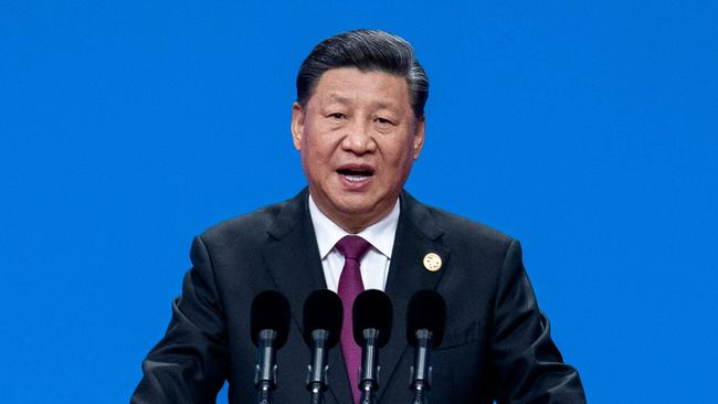 Chinese president Xi Jinping has gone into damage control amid fears of a coronavirus pandemic. Picture: NICOLAS ASFOURI / AFP