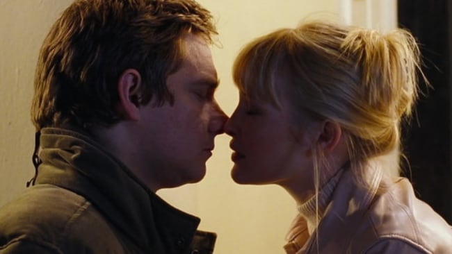 That kiss. Photo: 'Love Actually'