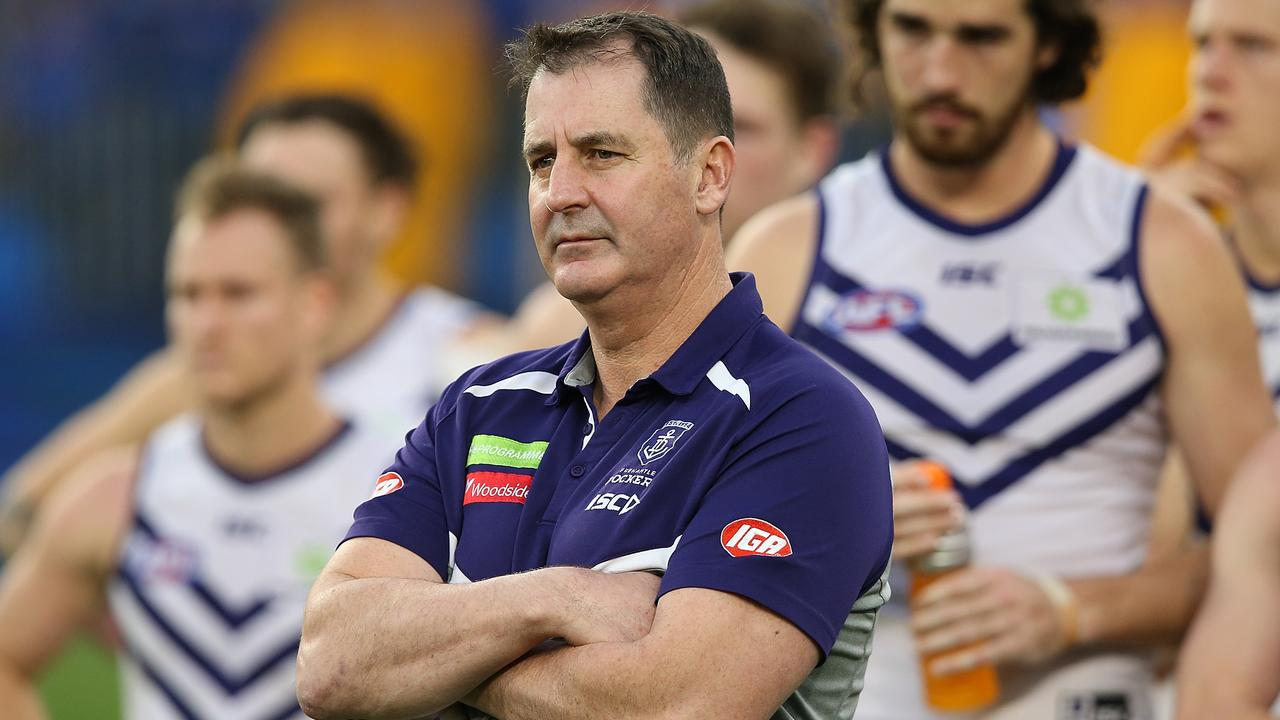 Fremantle coach Ross Lyon said his players wanted retribution for Gaff's hit.