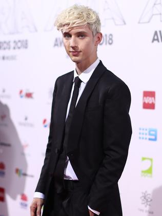 Troye Sivan kept it simple. Picture: Getty