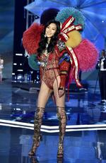 Liu Wen walks the runway during the 2017 Victoria's Secret Fashion Show In Shanghai at Mercedes-Benz Arena on November 20, 2017 in Shanghai, China. Picture: Frazer Harrison/Getty Images for Victoria's Secret