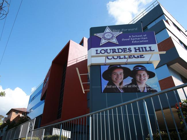 Lourdes Hill College has found itself in an embarrassing public scandal this week.