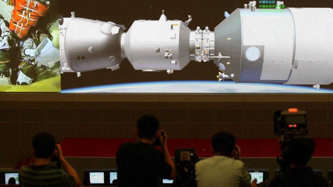 Out-of-control Chinese space station to crash into Earth
