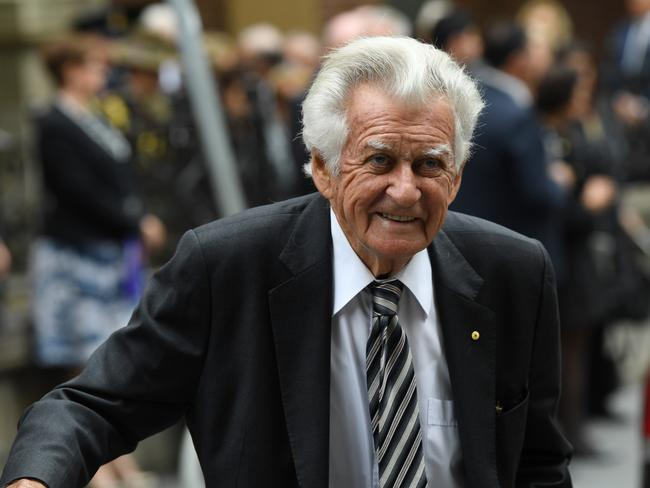 Bob Hawke once wryly observed that he was the only man to be made PM by Graham Richardson and unmade PM by Graham Richardson. Picture: David Moir