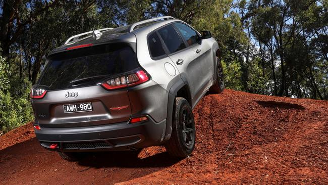 The Trailhawk is the most off-road focused version in the Cherokee range.