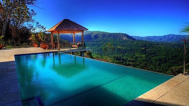 Koonyum Range Retreat - boast some of the most incredible views in the  Byron Bay region. Picture: Unique Estates