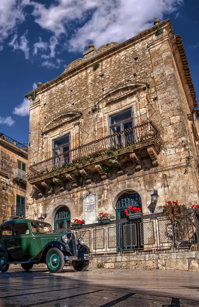 Throughout the town, lavish Baroque palazzos are juxtaposed to Arab-style courtyards and humble farmer dwellings. Picture: Maurizio di Maria. Source: Supplied.