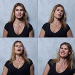 'The O Project' by photographer Marcus Alberti captures women's expressions before, during and after an orgasm. Picture: Marcus Alberti