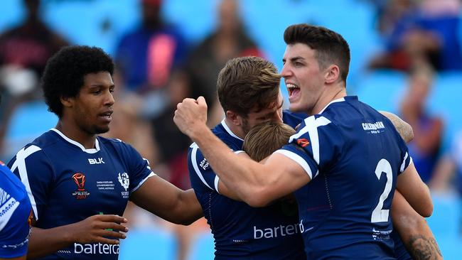 The Bravehearts stunned Samoa early in the match.