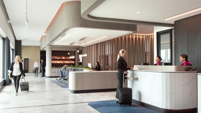 For a limited time only, you don't need to be flying business or first class to get into the lounge. Picture: Qantas