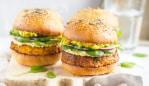 A delicious vegan burger. Image: iStock.