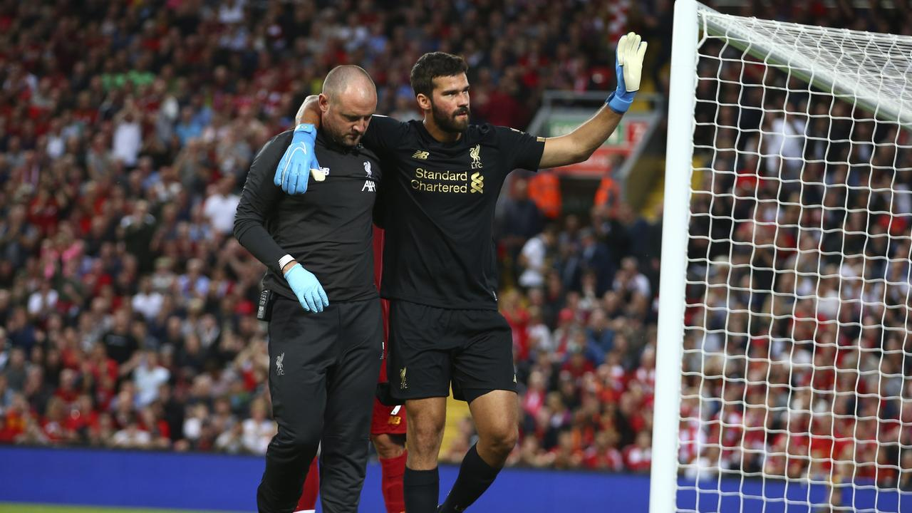 Jurgen Klopp has given an update on Alisson's injury