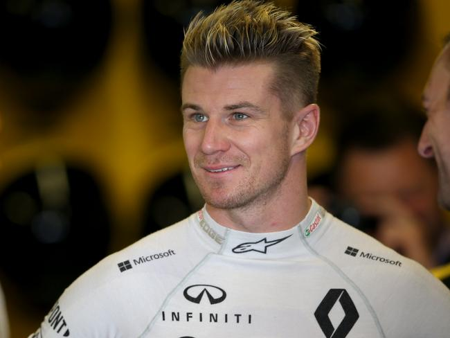 Nico Hulkenberg celebrated the end of an era with Renault.