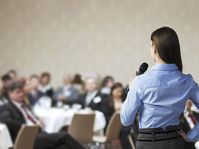 Public speaking, few of us admit to liking it but it's a massive skill employers look for.