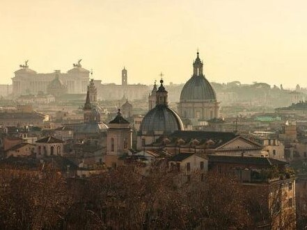 View of Rome from Hotel Vilon. Picture: Supplied
