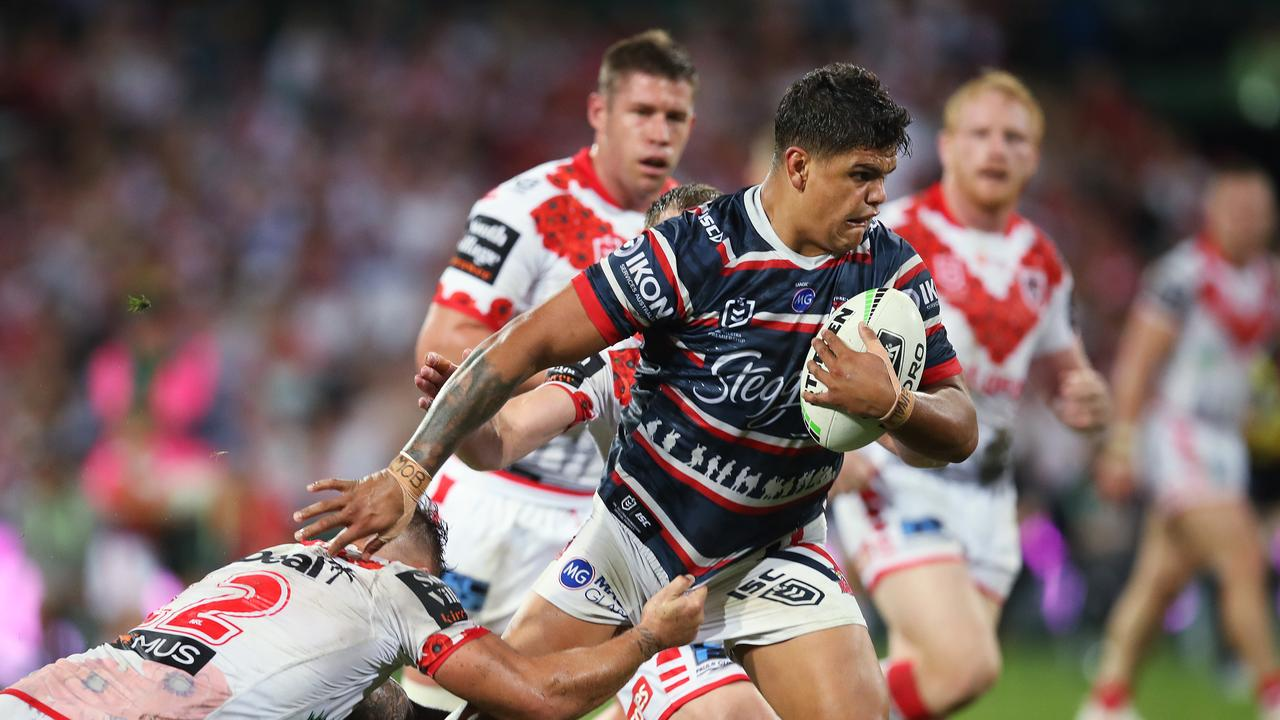 Trent Robinson believes his NRL superstar Latrell Mitchell isn't going anywhere.