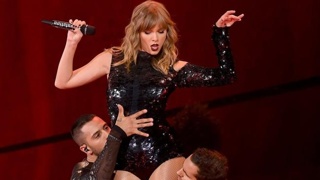 Swift came in second — but with $110 million in her pocket, she's probably fine. Photo: Kevin Winter/Getty Images
