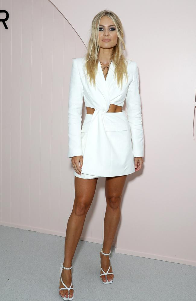 Elyse Knowles led the fashion arrivals.