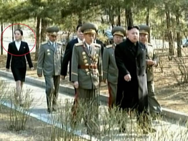 Kim Yo Jong, pictured here is one of the few people with direct access to the leadership. Pic: AFP.