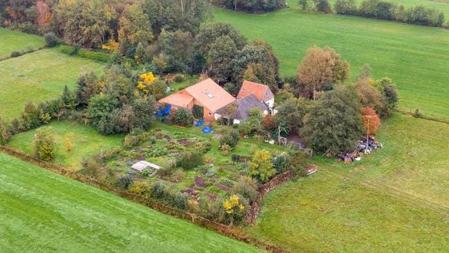 The Buitenhuizerweg property in the Netherlands. Picture: Wilbert Bijzitter/ANP/AFP