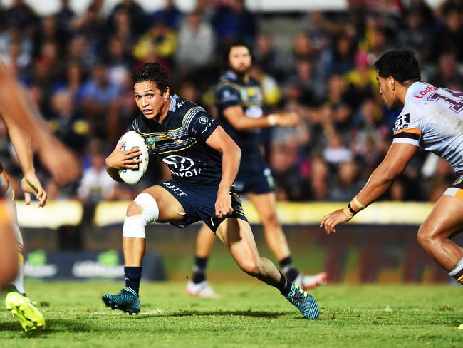 Te Maire Martin in action.
