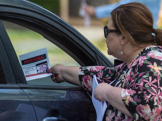 IFriends and family of the student have been searching for her for more than a week. Picture: AP